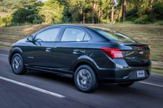 Chevrolet Prisma é um bom sedan automático de entrada