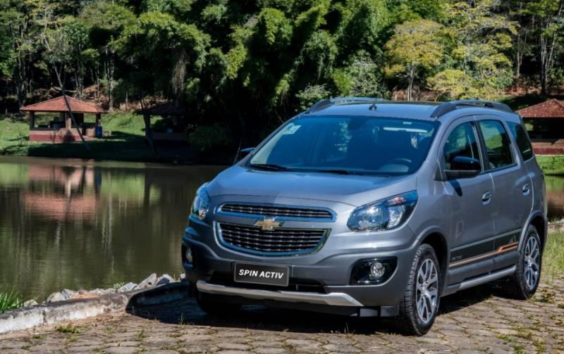 Chevrolet Spin conta com nova geração do multimídia Chevrolet MyLink