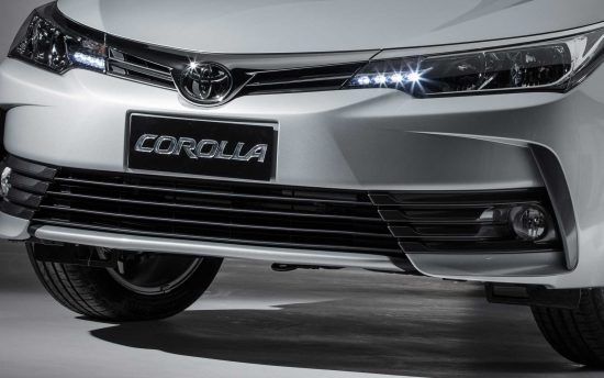 Visual do novo Toyota Corolla 2019 continua surpreendente