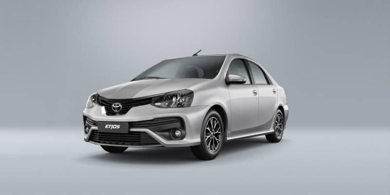 Novo Toyota Etios 2019 promete mais segurança