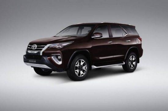 Beleza no design é marca da nova Toyota SW4 2019