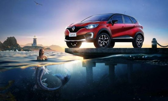 Design do Renault Captur é lindo
