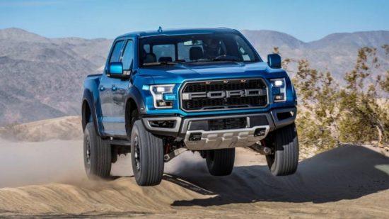 A incrível Ford F-150 Raptor 2019 chega com nova suspensão eletrônica