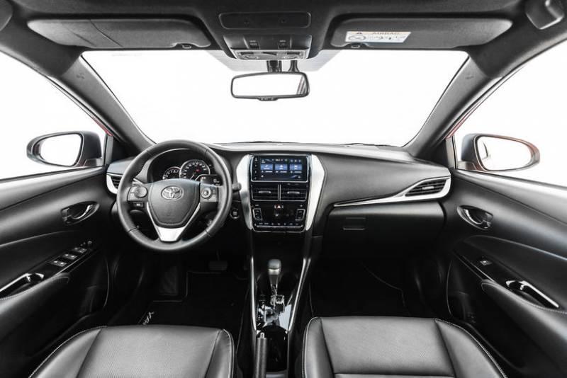 Interior do Novo Toyota Yaris