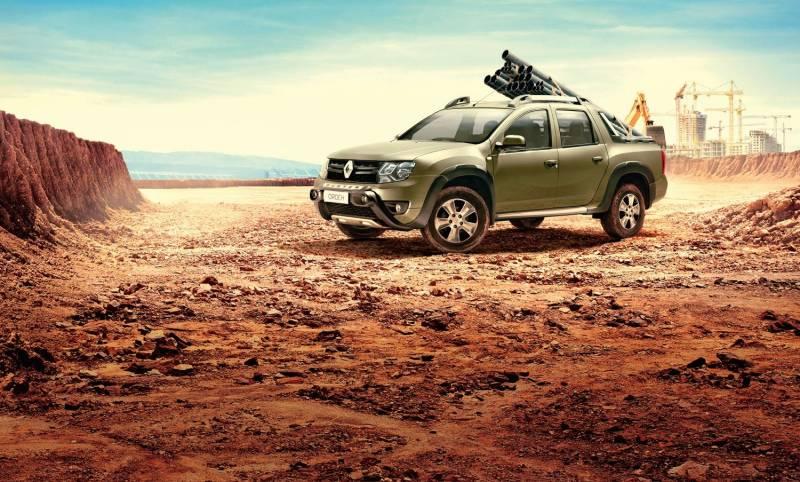 Renault Duster Oroch é uma picape de pequeno porte esforçada
