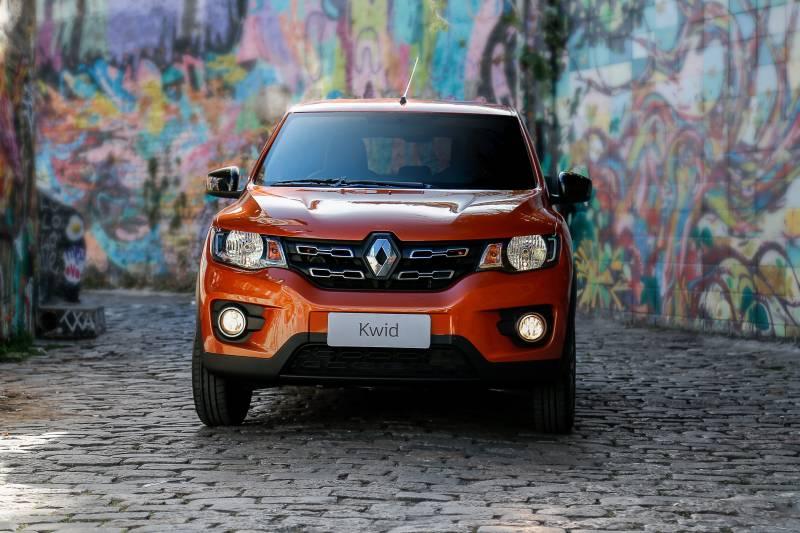 Preço do Renault Kwid agrada para a rotina urbana