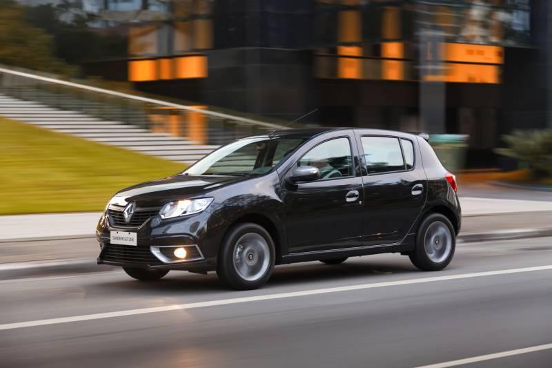 Confira as versões do Renault Sandero