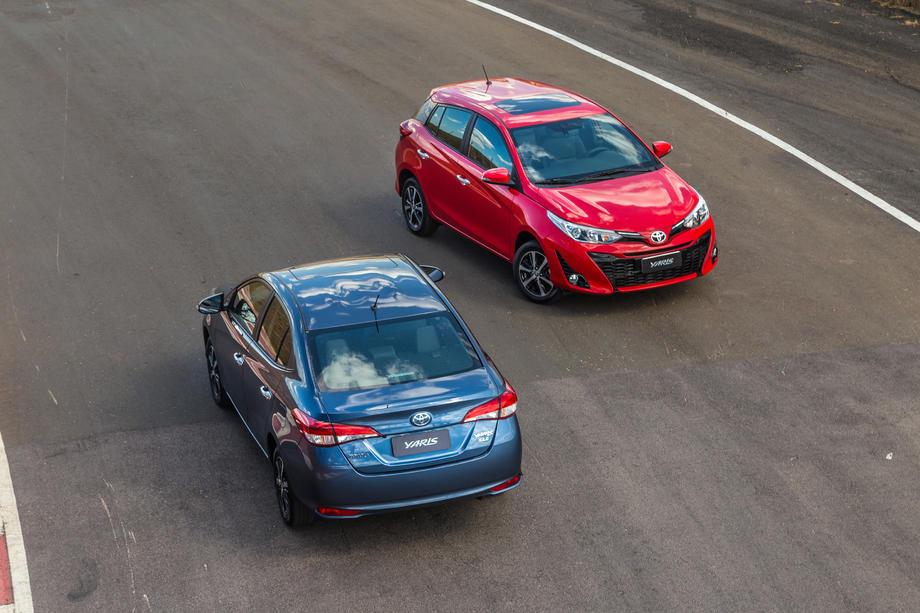 Preço do novo Toyota Yaris agrada no hatch e sedan
