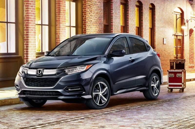 Honda HR-V 2019 tem visual marcante