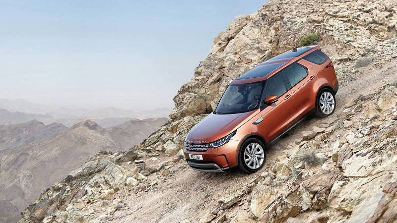 7 Lugares na Land Rover Discovery
