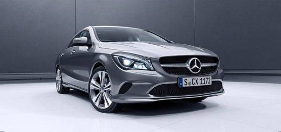 Novo Mercedes CLA combina um cupê com sedan
