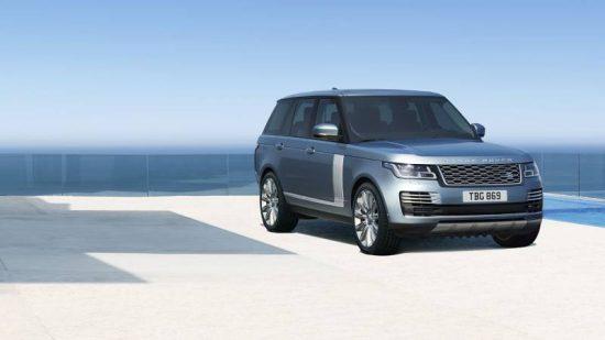 Luxo e potência com o Range Rover