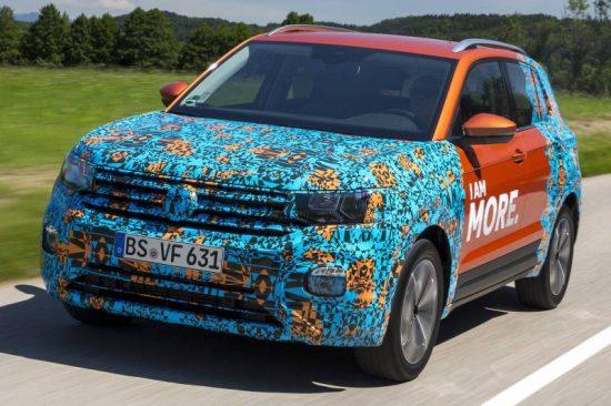 Novo SUV Volkswagen T-Cross 2019 chega com design marcante