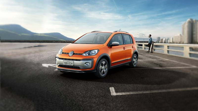 Novo VW UP é um compacto cheio de tecnologia