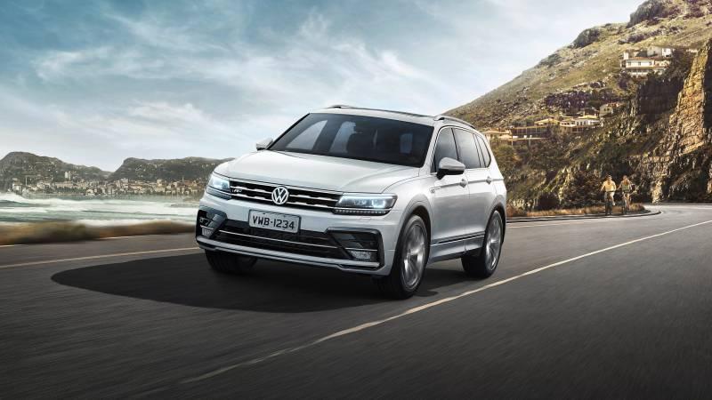 VW Tiguan Allspace traz conforto em um SUV de 7 lugares