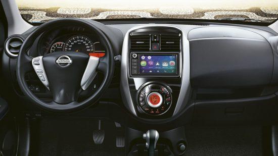 Nissan March 2019 e Versa 2019 ganham novidades no sistema multimídia