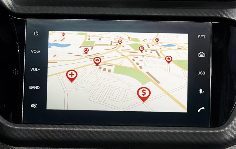 """Central multimídia com tela de 8"""" touchscreen câmera de ré"""