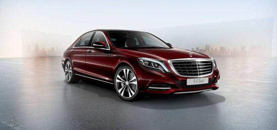 Classe S é um ícone da Mercedes-Benz