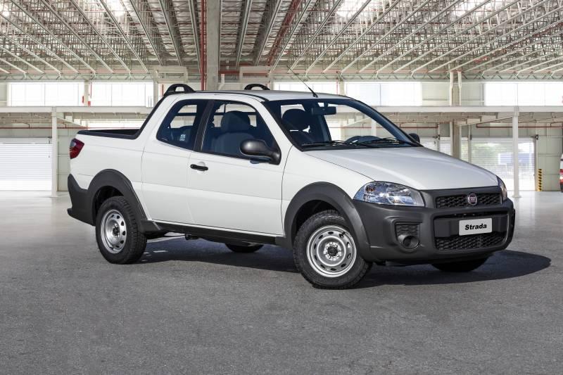 Nova Fiat Strada 2019 chega com bom preço e nova versão cabine dupla