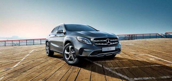 GLA é o SUV esportivo compacto da Mercedes-Benz