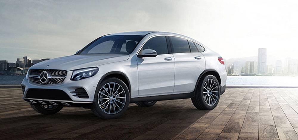 Mercedes-Benz GLC SUV e Coupê tem visual marcante