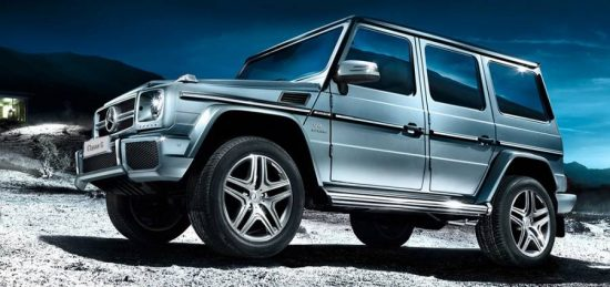 Mercedes Classe G aprimora o estilo tradicional