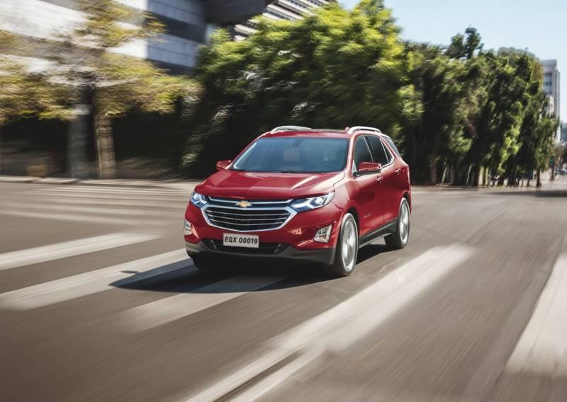 Chevrolet Equinox 2019 chega com detector de pedestre