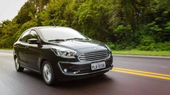 Ford Ka passa em teste de segurança
