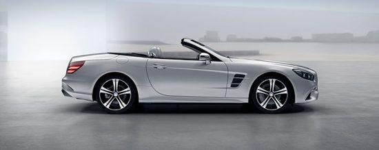 Mercedes SL tem design atraente e moderno
