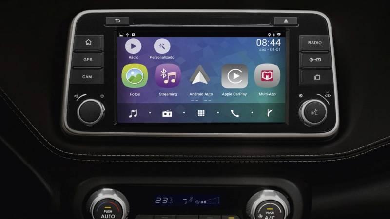 Central multimídia Nissan Multi-App