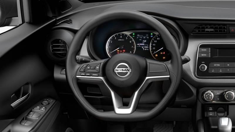 Direção elétrica com controle de áudio e telefone no volante
