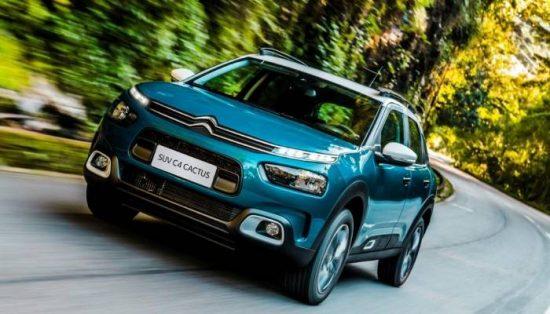 Novo Citroën C4 Cactus tem destaque para o conforto