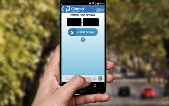 Como fazer a consulta da placa de veículo com o app Sinesp cidadão