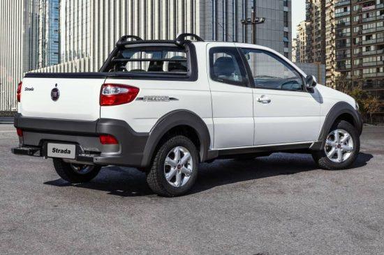 Nova Fiat Strada 2019 tem novas opções