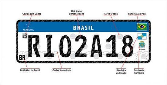 Nova placa de carros e motos no Brasil deve demorar mais que o esperado