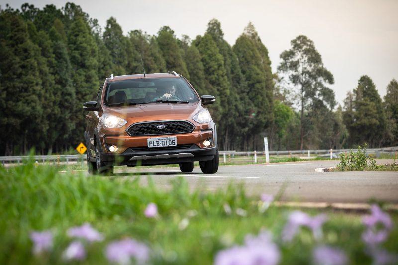 Campo de testes de carros da Ford