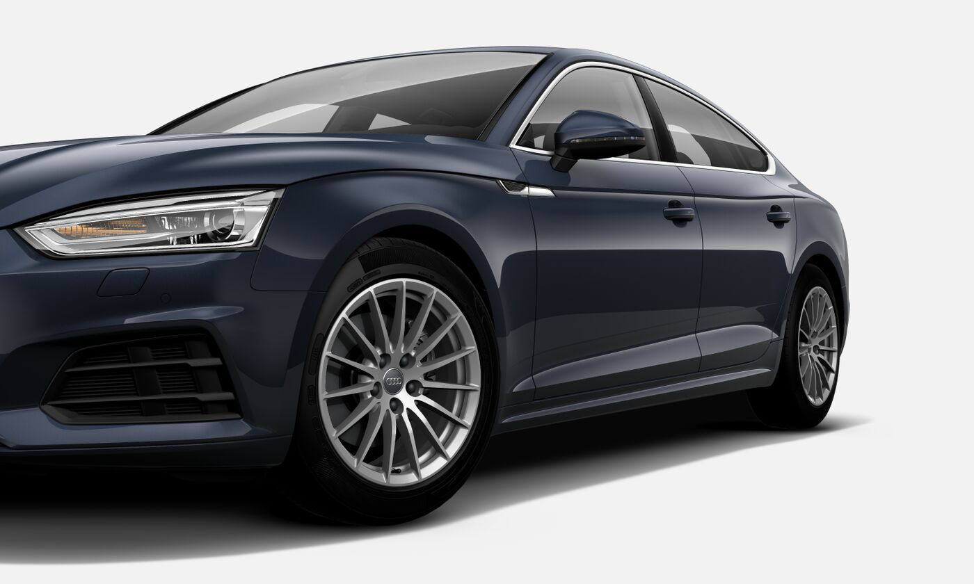 Design esportivo com o novo Audi A5 Sportback