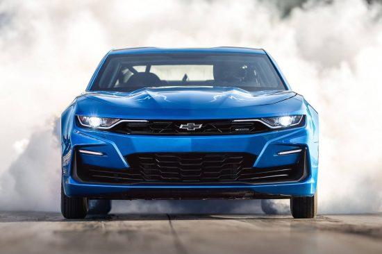 eCOPO é o conceito de carro elétrico baseado no Chevrolet Camaro