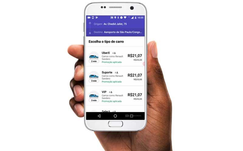 Como é calculado o preço do Uber