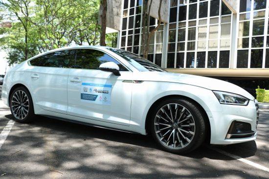 Motor Audi com gás gerado no tratamento de esgoto é testado pela Sabesp