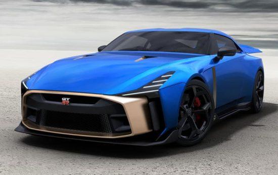 Nissan GT-R50 terá produção limitada de 50 unidades