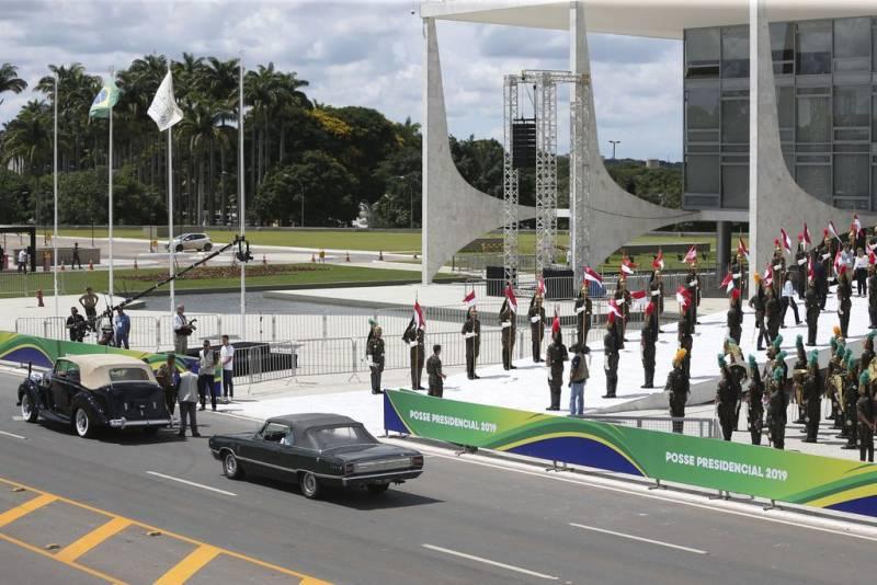 Último ensaio para a posse de Jair Bolsonaro - José Cruz/Agência Brasil