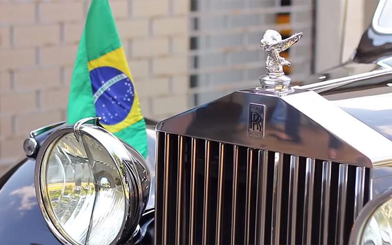 Conheça o Rolls-Royce que levou Jair Bolsonaro para a posse como presidente