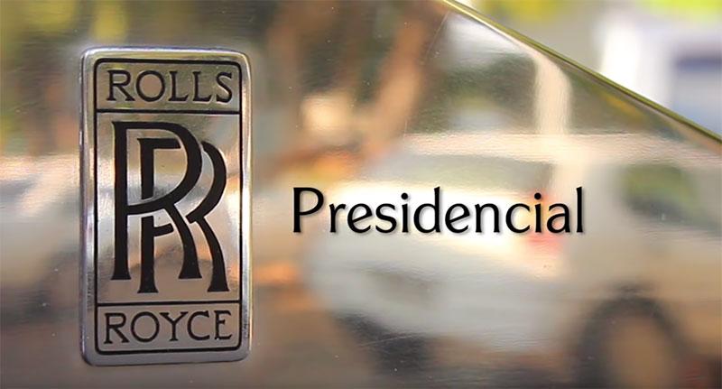 Rolls-Royce Presidencial (reprodução / Planalto)