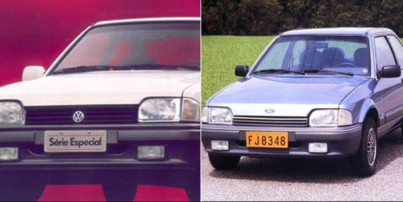 Volkswagen Apollo e Ford Verona