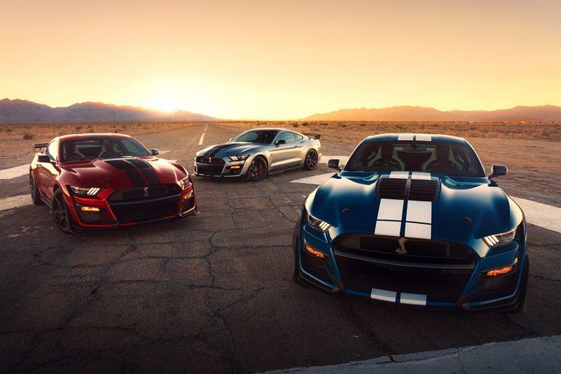 Novo Shelby GT500 Mustang é o carro de série mais potente da Ford