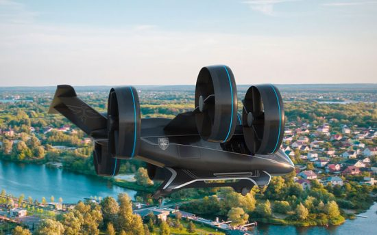 Seu Uber pode chegar com um carro voador no futuro