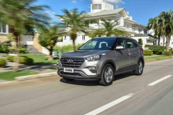 Liderança dos SUVs compactos é do Hyundai Creta