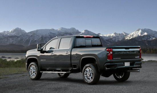 Esta é a Chevrolet Silverado High Country que será lançada lá nos EUA