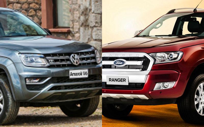 Volkswagen Amarok e Ford Ranger